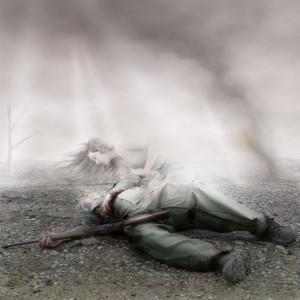 soldat ange