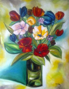 Florero primaveral M.M. IHRY 65 81